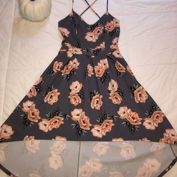Charlotte Russe Dresses & Skirts - High- low floral dress